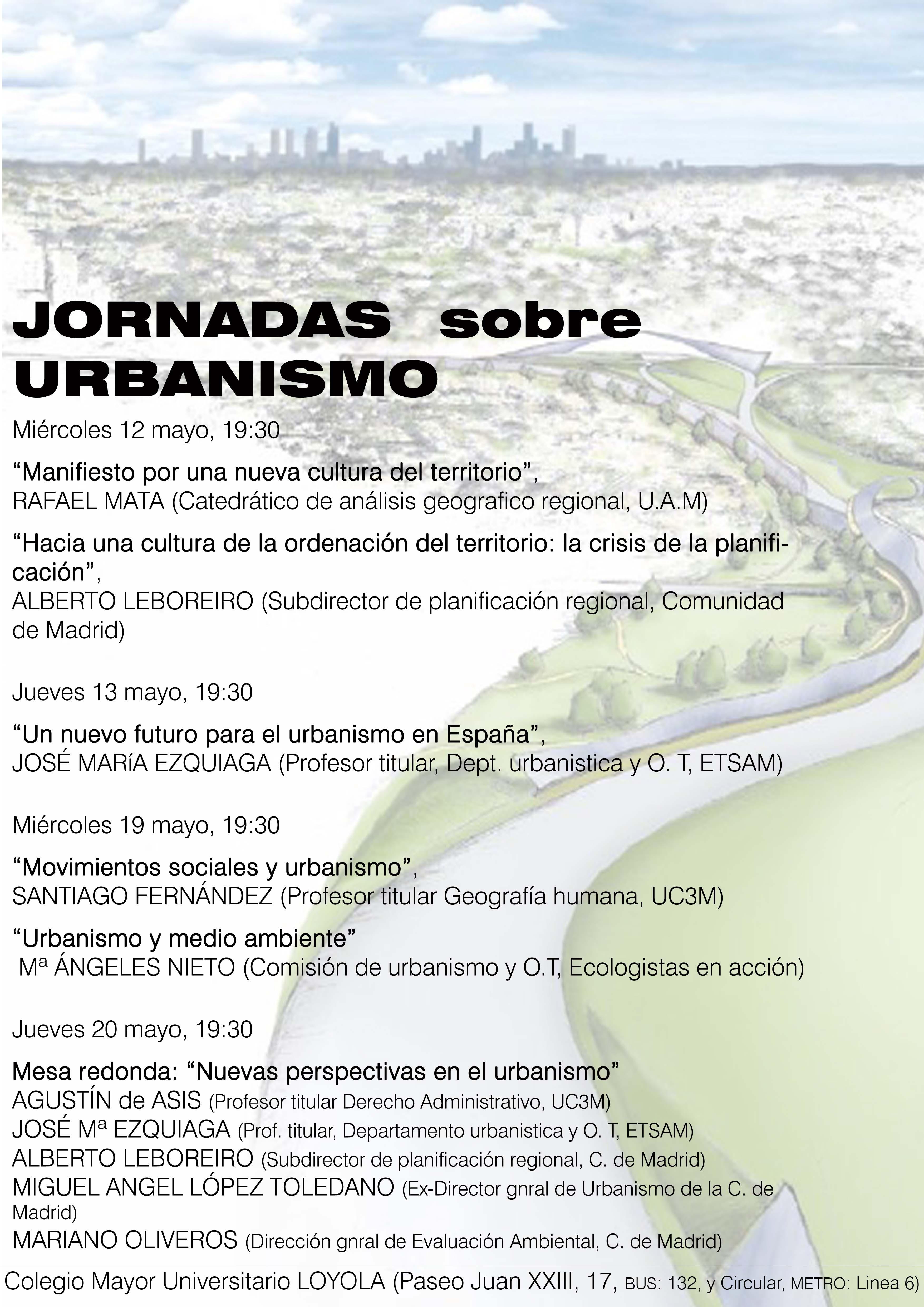 jornadas urbanismo loyola
