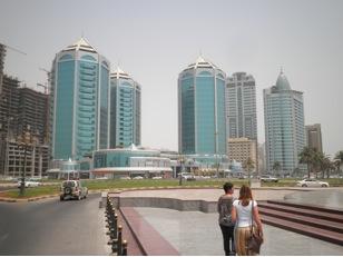 Sharjah paseo maritimo dubai edificios