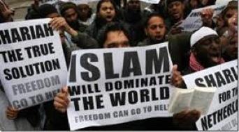 manifestacion islam