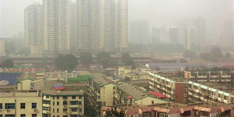 Contaminación en Beijing